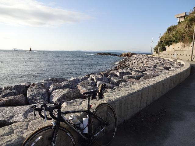 羽豆岬海沿い