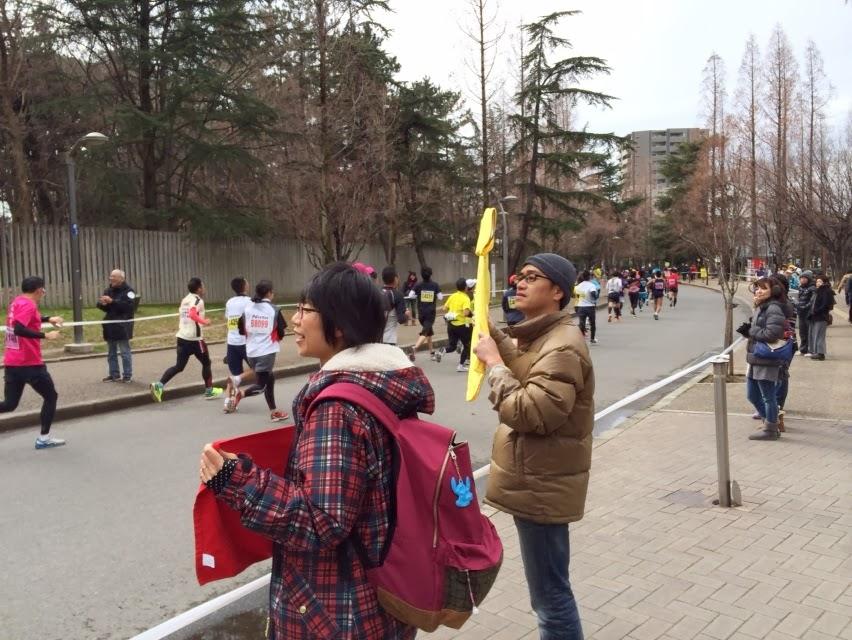 2014大阪ハーフ応援1