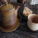 Cafe Arte急須と湯のみ