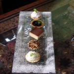 ヴィアンジュームオンの5種ケーキセット