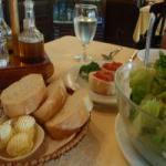 ジョルジオ 前菜+シーザーサラダ