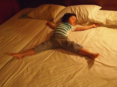 ある日の寝姿1