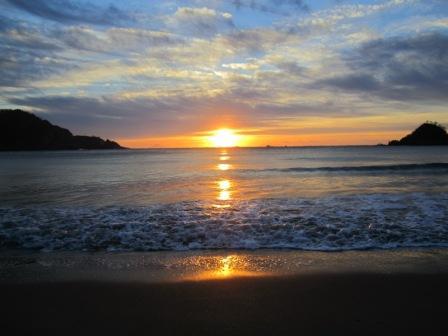 初日の出 弓ヶ浜