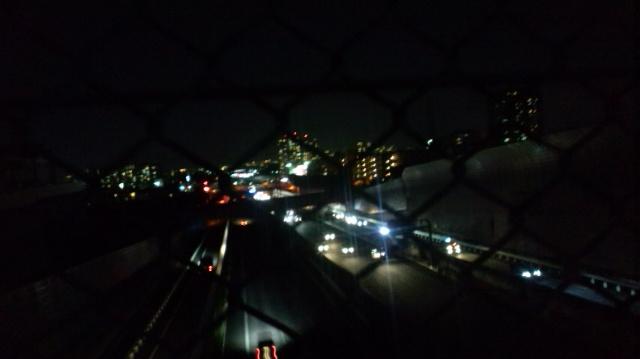 散歩の夜景