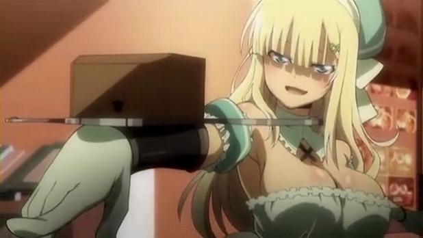 閃乱カグラ 3話1