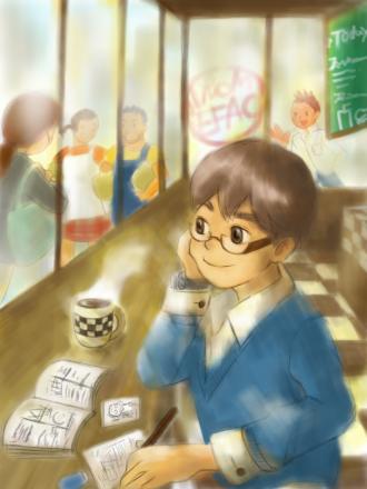 マリオさんのカフェ①