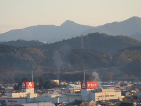 弥仙山遠望