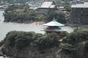 鞆の浦 皇后島遠景