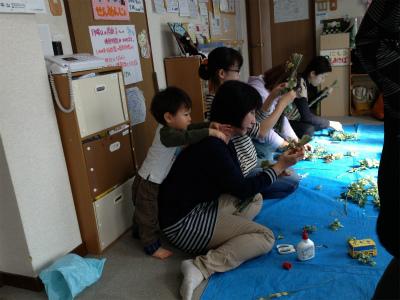 三つ編みリース7