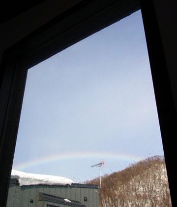 20130202朝の虹