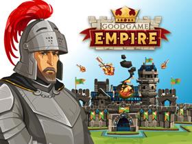 戦略シミュレーションブラウザゲーム『Goodgame Empire(グッドゲーム エンパイア)』 基本プレイ無料!