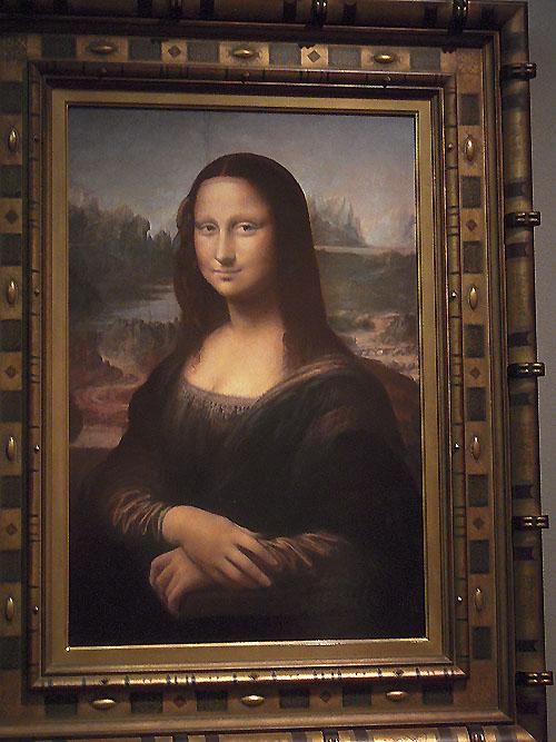 陶板絵画モナリザ