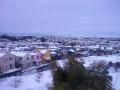 積雪横浜線沿線