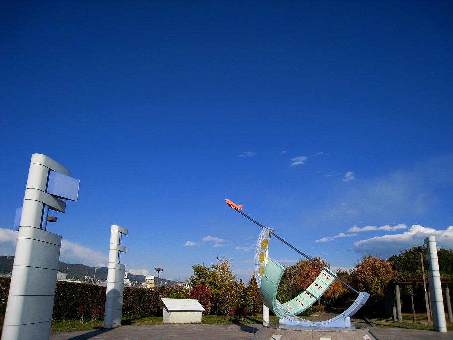 今日の昼下りの空@エアフロントオアシス下河原(by XIY DIGITAL 910IS)
