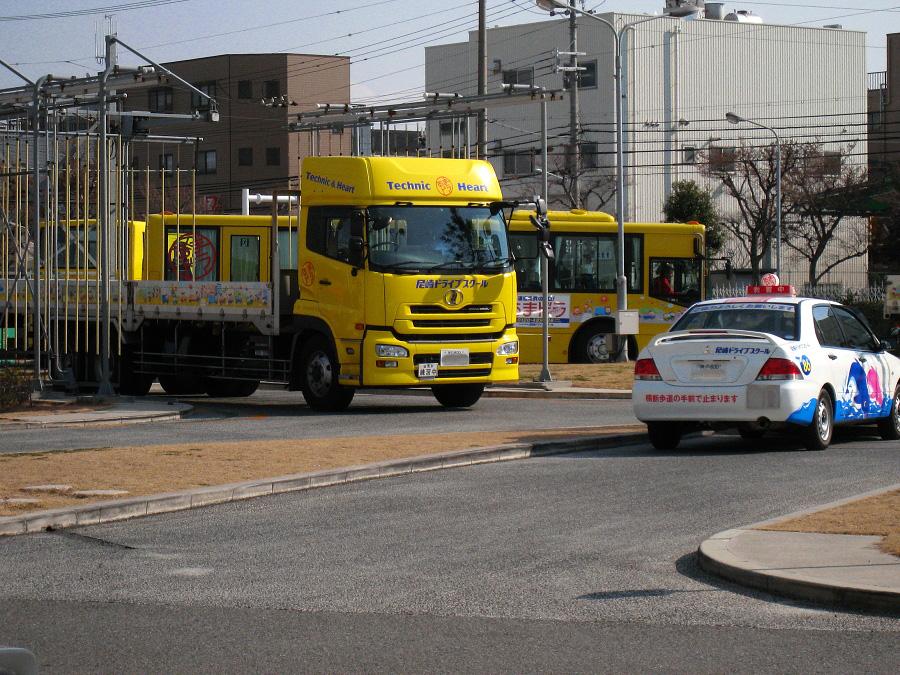 今日の2時限目の教習車@尼崎ドライブスクール(by IXY DIGITAL 910IS)