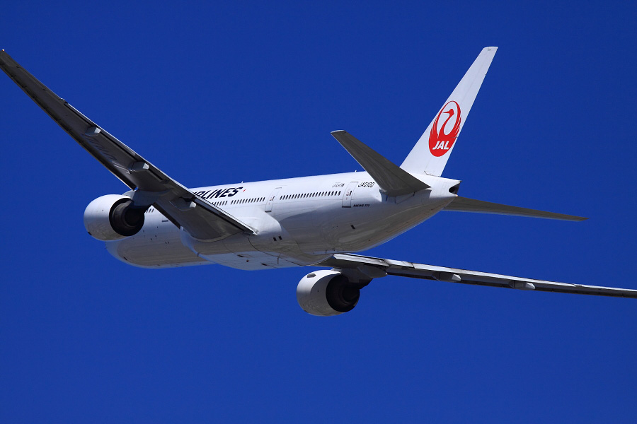 JAL B777-289 JAL114@リサイクルセンター周辺(by EOS 50D with EF100-400mm F4.5-5.6L IS USM)