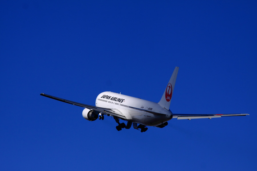 JAL B767-346 JAL116@伊丹スカイパーク(by EOS 50D with SIGMA APO 300mm F2.8 EX DG HSM)