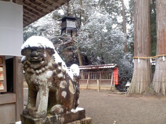 伊和神社 狛犬