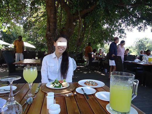 チホ嬢@Mfuwe Lodge, サウスルアンガ