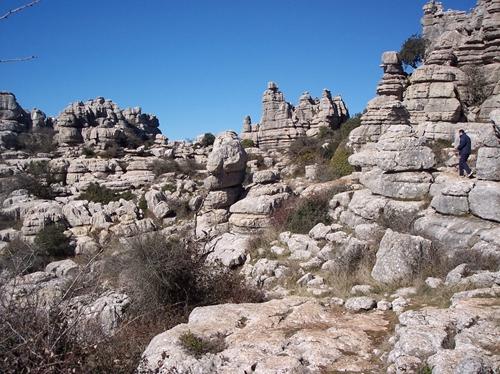 石灰奇岩群