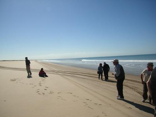 ビーチが30km