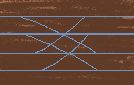 線路のダイヤ