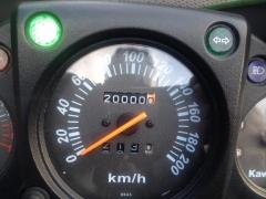 2万キロ記念