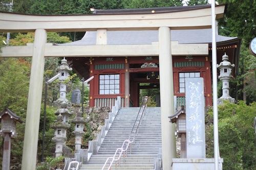 御嶽神社 入り口