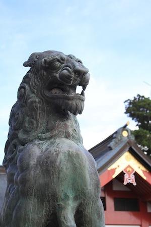 御嶽神社 狛犬