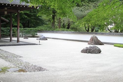 玉堂美術館 中庭
