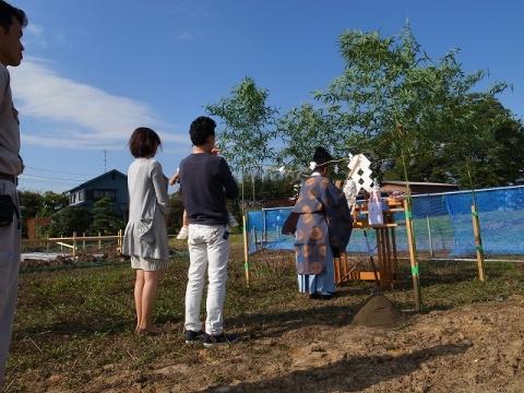 福島邸地鎮祭 (1)