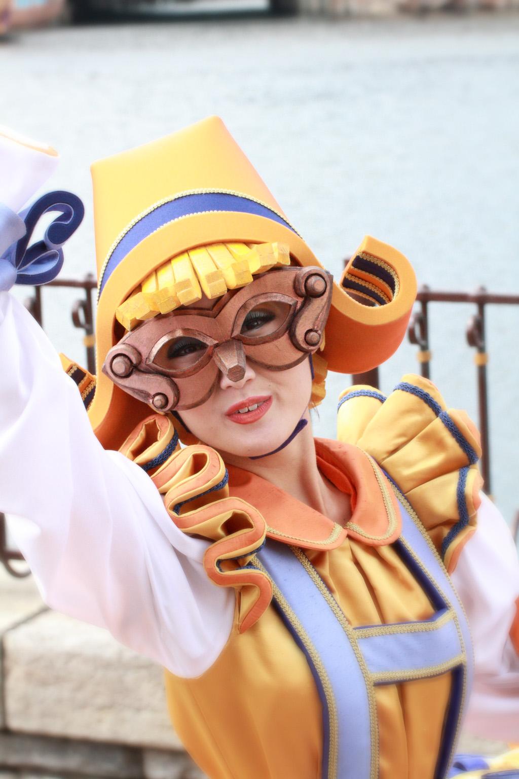 ピノキオ仮面(ハロウィーン・デイドリーム)