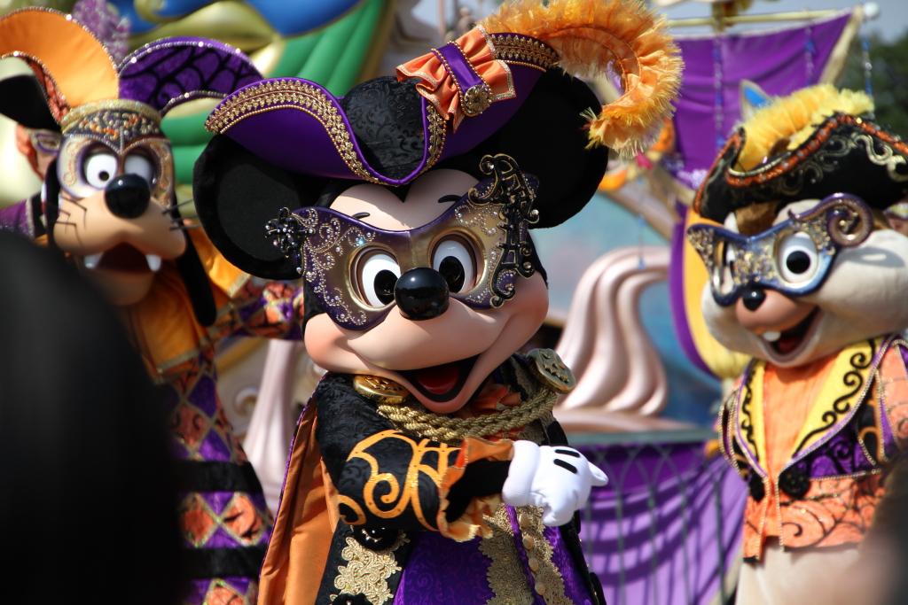 ある日の目線(マウスカレード・ダンス)