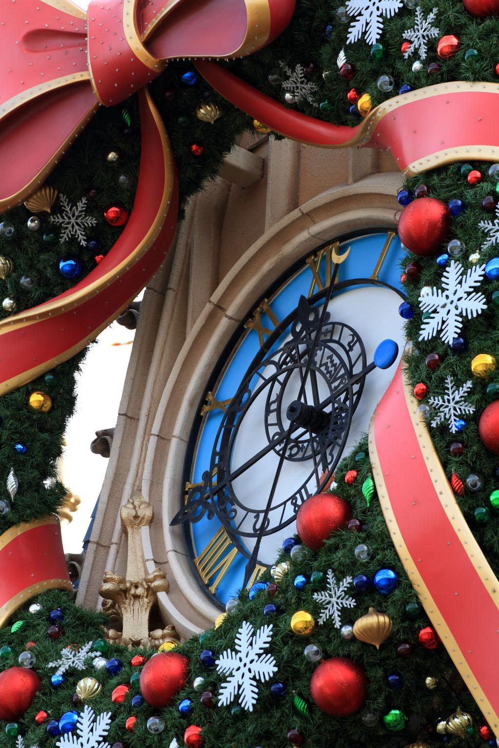 クリスマスと時計