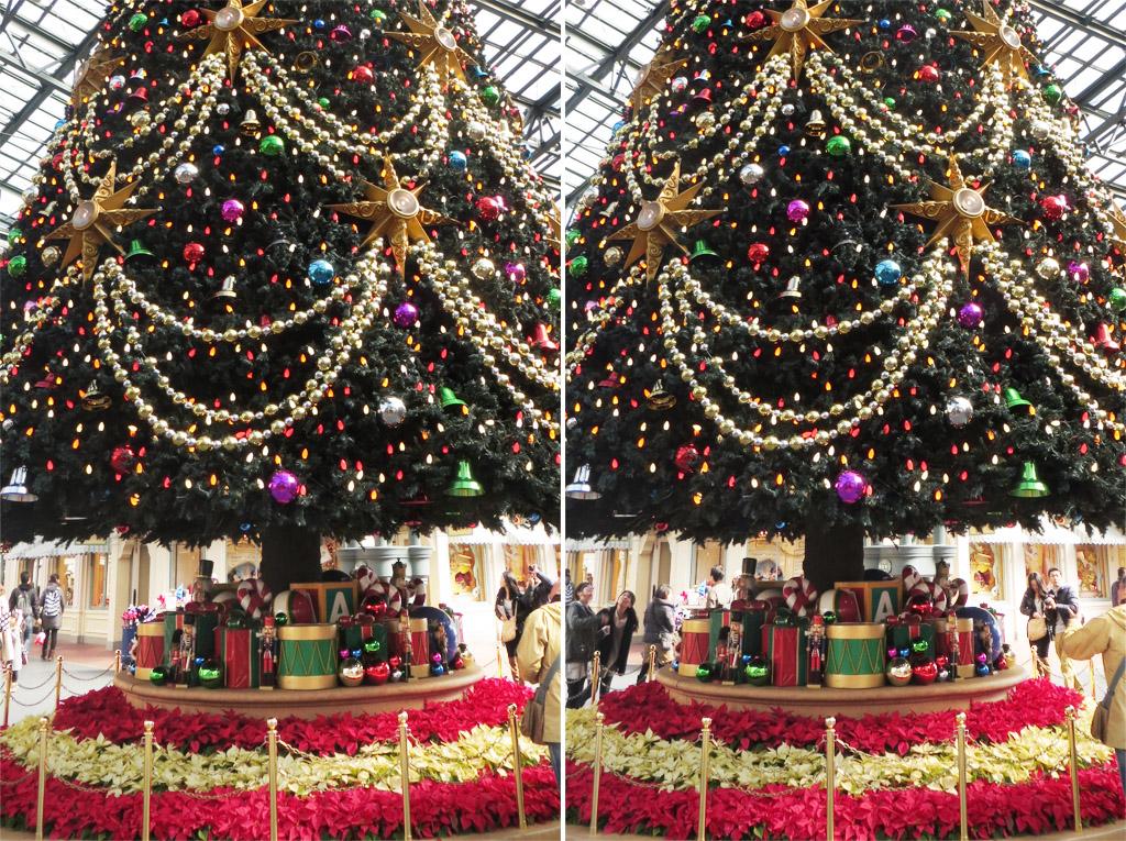 クリスマスツリー(立体)