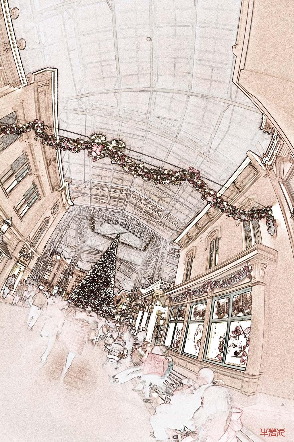クリスマスのワールドバザール