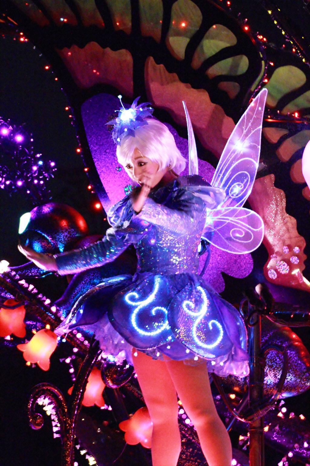 夜のフェアリー(東京ディズニーランド・エレクトリカルパレード・ドリームライツ)