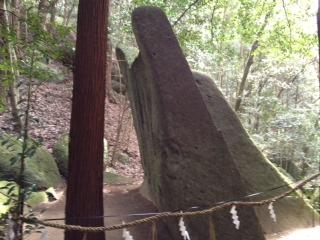 天乃石立神社 ご神体 H24/4/29