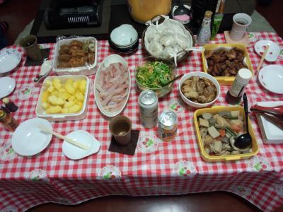 クリスマス鍋パーティー