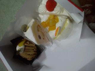 一応バースデーケーキ
