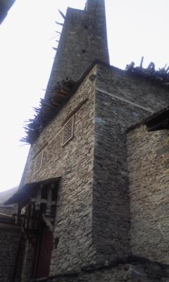 羌族の砦 塔①