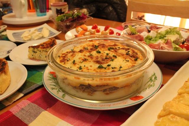はじめて作ったアッシュ・パルマンテイエ(フランスの家庭料理)