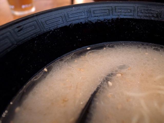 スープ表層
