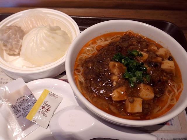 麻婆豆腐麺点心セット
