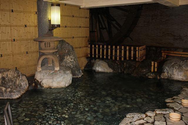 旅館内温泉1