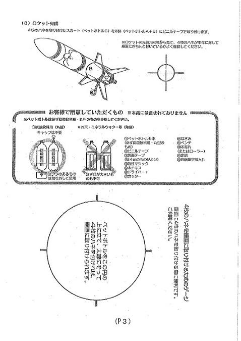 ペットロケット作り方③