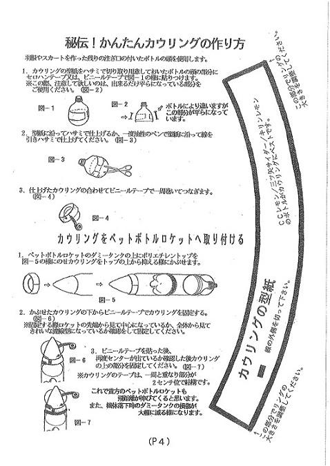 ペットロケット作り方④