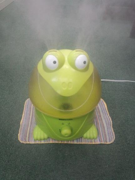 カエル加湿器