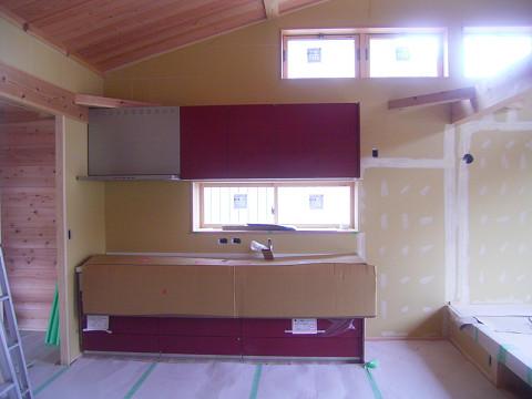 0783 内装下地、キッチン完了