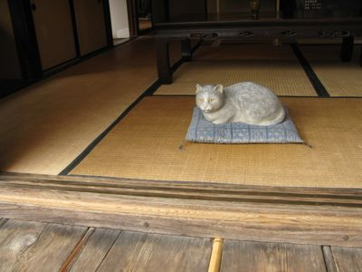 明治村夏目猫